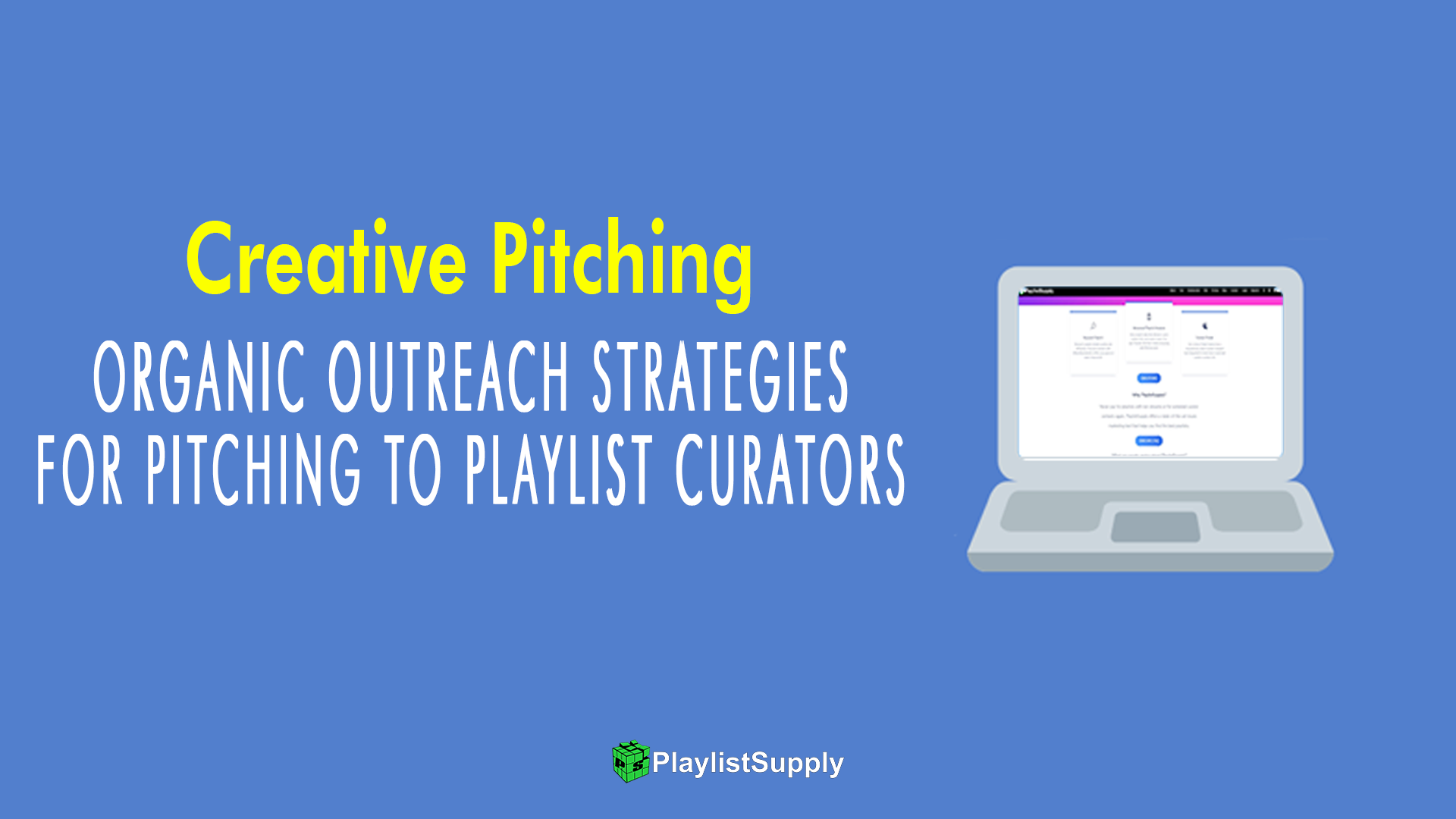 playlist pitching, how to contact playlist curators
